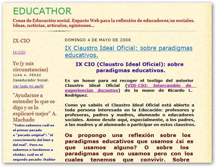 IX CIO en Educathor