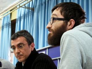 Con Olivier, de Platoniq